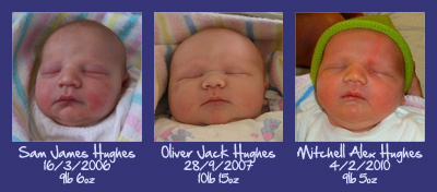 3 Hughes Boys